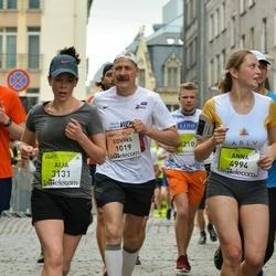 The 26th Lattelecom Riga Marathon - Edvīns Cifersons (1019), Aija Parfjonova (3131)