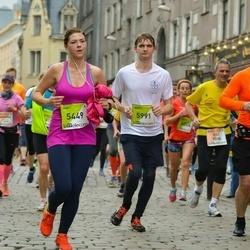 The 26th Lattelecom Riga Marathon - Aija Minikovica (5449), Raman Nakazny (5991)