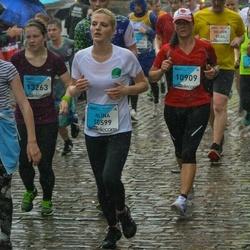 The 26th Lattelecom Riga Marathon - Alīna Depše (10599), Marina Savčuka (10909)