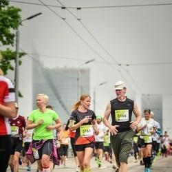 The 26th Lattelecom Riga Marathon - Aija Šļaukstiņa (5161), Jānis Vītiņš (5166)