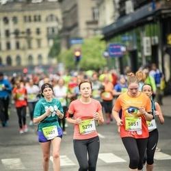 The 26th Lattelecom Riga Marathon - Ance Celmiņa (5279), Karina Baranovskaya (5407), Annija Brante (5851)