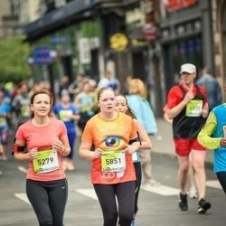 The 26th Lattelecom Riga Marathon - Ance Celmiņa (5279), Annija Brante (5851)