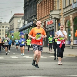 The 26th Lattelecom Riga Marathon - Ruslan Konchenko (5755), Ieva Zeire (6021)