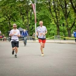 The 26th Lattelecom Riga Marathon - Anton Evgrafov (1075), Mārtiņš Dīcis (1238)