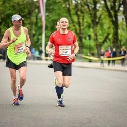 The 26th Lattelecom Riga Marathon - Dmitri Nikolajev (1013), Aleksander Toots (1461)
