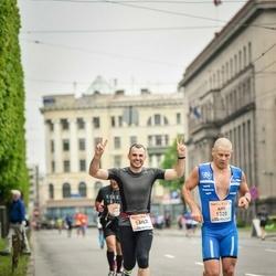 The 26th Lattelecom Riga Marathon - Aho Augasmägi (1320), Pāvels Baikovs (1602)