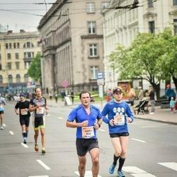The 26th Lattelecom Riga Marathon - Andris Pētersons (840), Lauri Kankaanrinne (1131)