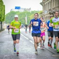 The 26th Lattelecom Riga Marathon - Alexander Godin (552), Robert Zeitner (796), Asta Buinevičiūtė (1670)
