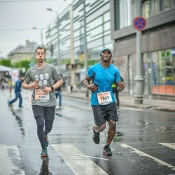 The 26th Lattelecom Riga Marathon - Achard-Arribert Matthieu (1283), Cohen Henry (1569)