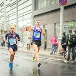 The 26th Lattelecom Riga Marathon - Enrico Rivoldini (12061), Māris Pakārklis (13763)