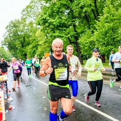 The 26th Lattelecom Riga Marathon - Ann Helen Dybwad (4044), Robert Chapple (4653)