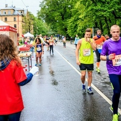 The 26th Lattelecom Riga Marathon - Henrik Örtenwall (640), Armands Priede (1806)