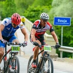 SEB MTB maratons 2016 - 3.posms - Jānis Keiselis (776), Mārtiņš Gailītis (845)