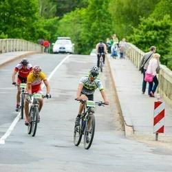 SEB MTB maratons 2016 - 3.posms - Kristaps Malčanovs (782), Toms Kokenbergs (1048)