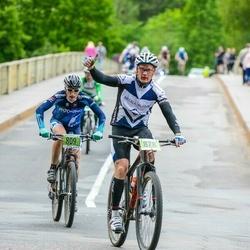 SEB MTB maratons 2016 - 3.posms - Kristaps Kanašnieks (809), Oskars Kalvāns (878)