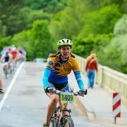SEB MTB maratons 2016 - 3.posms - Anete Geduševa (1409)