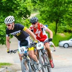 The European XCM championship 2016 - Ivars Prokofjevs (49), Ivan Filatov (53)