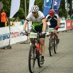 SEB MTB maratons 2016 - 3.posms - Arnis Zvirbulis (1022), Armands Vācers (1778)