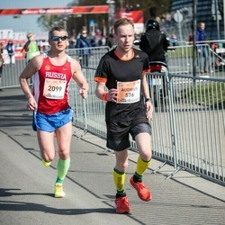 The 27th Lattelecom Riga Marathon - Audrius Mikalajunas (576), Alexey Belousov (2099)