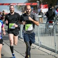 The 27th Lattelecom Riga Marathon - Maksymilian Dadej (5750), Gunārs Ozoliņš (6259)