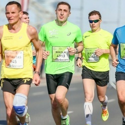 The 27th Lattelecom Riga Marathon - Alexey Alvianskiy (4387), Nikolai Chernev (4913)