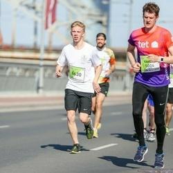 The 27th Lattelecom Riga Marathon - Sandis Burtnieks (5004), Emīls Kvālis (6630)
