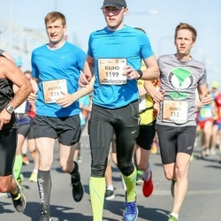 The 27th Lattelecom Riga Marathon - Agnis Mūrnieks (213), Anton Levshin (516), Raimo Talviste (1199)
