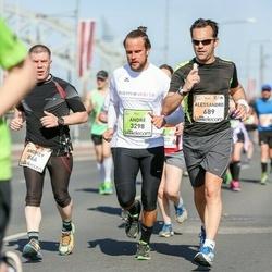 The 27th Lattelecom Riga Marathon - Alessandro Seren (689), André Grandt (3298)