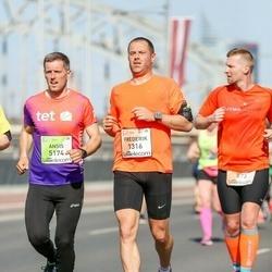 The 27th Lattelecom Riga Marathon - Frederik De Schrijver (1316), Ansis Ailis (5174)
