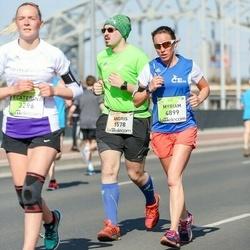The 27th Lattelecom Riga Marathon - Andris Melnis (1578), Myriam Perret (4899)