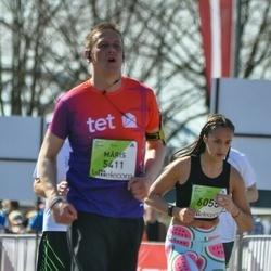 The 27th Lattelecom Riga Marathon - Māris Lasmanis (5411), Alise Mikšta (6055)