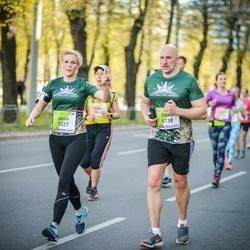 The 27th Lattelecom Riga Marathon - Ēriks Veldre (5138), Daiga Veldre (5327)