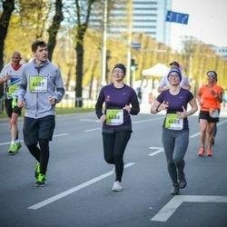 The 27th Lattelecom Riga Marathon - Eva Pāvulsone (6485), Ritvars Melnis (6487), Arturs Miezis (6496)
