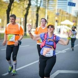 The 27th Lattelecom Riga Marathon - Gali Nathan Lavi (1656), Martin Riedel (2657)