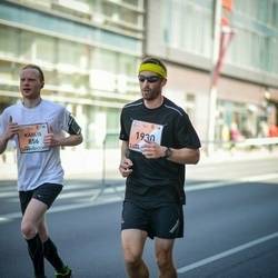 The 27th Lattelecom Riga Marathon - Kārlis Viļums (856), Agris Rusmanis (1930)