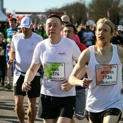 The 27th Lattelecom Riga Marathon - Artūrs Melbārdis (1734), Jānis Vīnerts (4376)