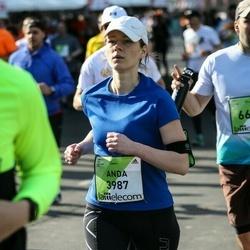 The 27th Lattelecom Riga Marathon - Anda Baklāne (3987)