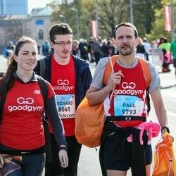 The 27th Lattelecom Riga Marathon - Richard Giddings (8065), Paul Becker (9793)