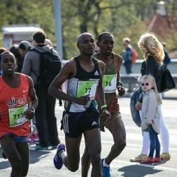 The 27th Lattelecom Riga Marathon - Robert Kimaru Magut (16), Paul Muhemi Maina (17), Ibrahim Mukunga Wachira (7138)