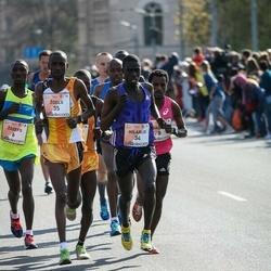 The 27th Lattelecom Riga Marathon - Joseph Kyengo Munywoki (6), Gadisa Birhanu Shumie (8)