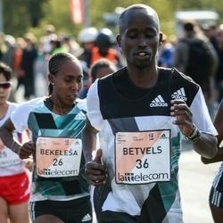 The 27th Lattelecom Riga Marathon - Bekelech Dada Bedada (26)