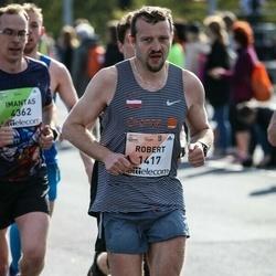 The 27th Lattelecom Riga Marathon - Robert Zając (1417)