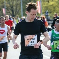 The 27th Lattelecom Riga Marathon - Maurice Niessen (1585)
