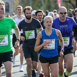 The 27th Lattelecom Riga Marathon - Anita Kažemāka (21), Kars Eijsink (4730)