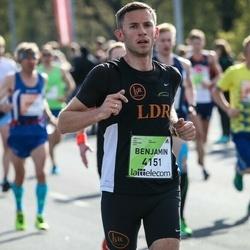 The 27th Lattelecom Riga Marathon - Benjamin Oertel (4151)