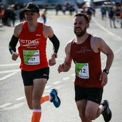 The 27th Lattelecom Riga Marathon - Aliaksandr Shkuhal (3157), Gints Cimers (6912)