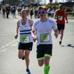 The 27th Lattelecom Riga Marathon - James Isherwood (3964), Sigve Denstad (4731)