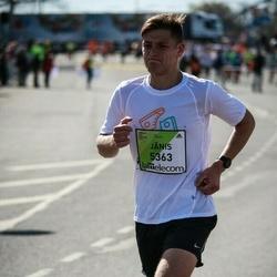 The 27th Lattelecom Riga Marathon - Jānis Liepiņš (5363)