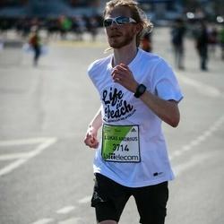 The 27th Lattelecom Riga Marathon - Lukas Andrius Jelisejevas (3714)