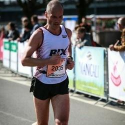 The 27th Lattelecom Riga Marathon - Jānis Actiņš (2035)